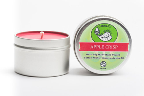 Apple Crisp Travel Tin Candle