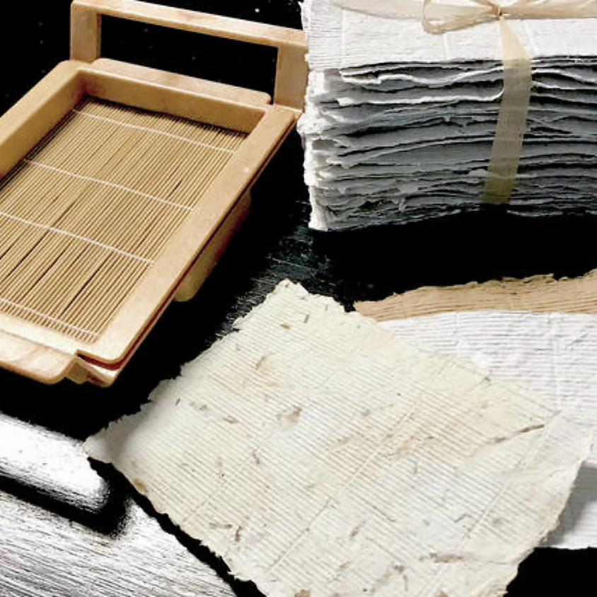 Paper making and Natural dyes