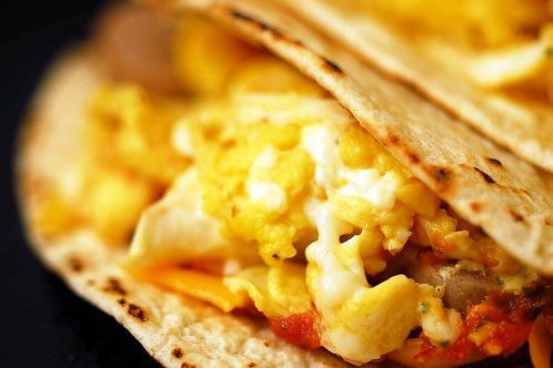 Breakfast Tacos with Cheese