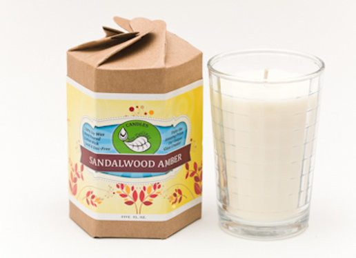 5 oz. Sandalwood Amber Candle