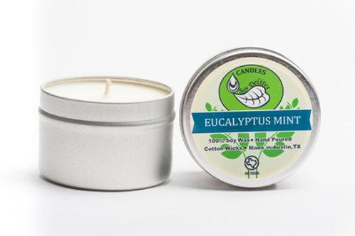 Eucalyptus Mint Travel Tin Candle