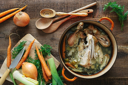 Organic Vegetable & Chicken Bone Broth