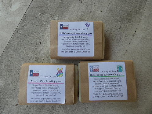 Organic Texas Soap