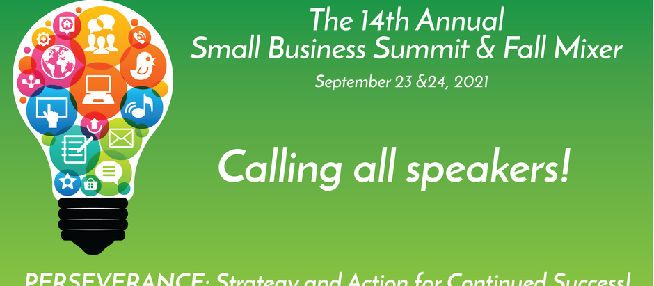 Announcing 14th Annual Fall Mixer and Small Business Summit Call for Proposals