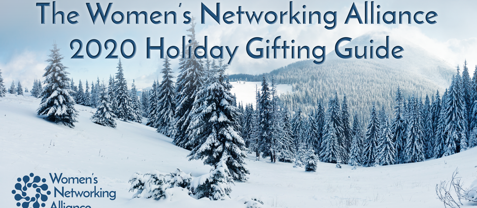 2020 Holiday Gifting Guide from Women's Networking Alliance
