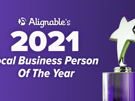 Tracey Lee Davis Wins San Jose's 2021 Alignable Local Business Person of the Year Contest