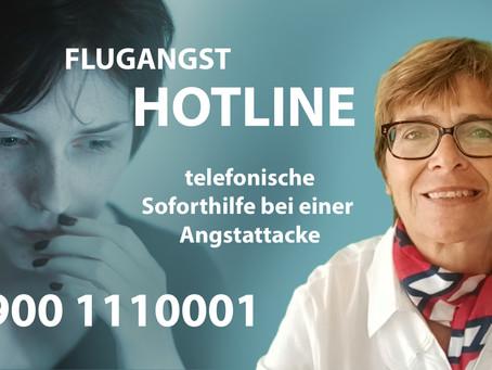 NEU! Erste Flugangst-Hotline in Deutschland ist für Dich da!
