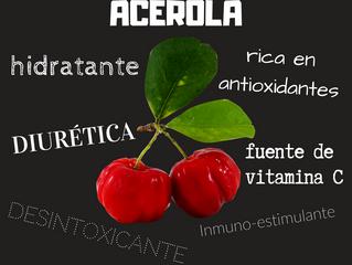 Acerola: Fuente de vitamina C