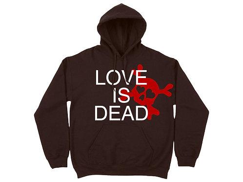 """""""Love Is Dead"""" Hoodie"""