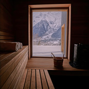 Sauna with view
