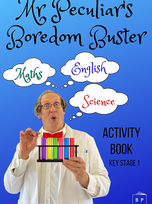 Mr Peculiar's Boredom Buster Activity Book