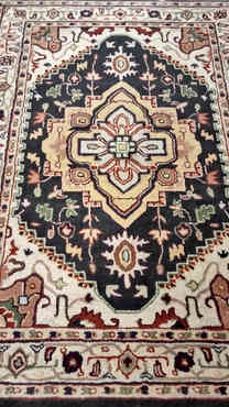 Traditional Motifs Hand-Tufted Rug By Rugs.Usv