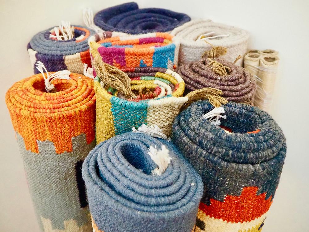 Handmade Rugs; Kilims, Dhurries; Flat-Weave Rugs