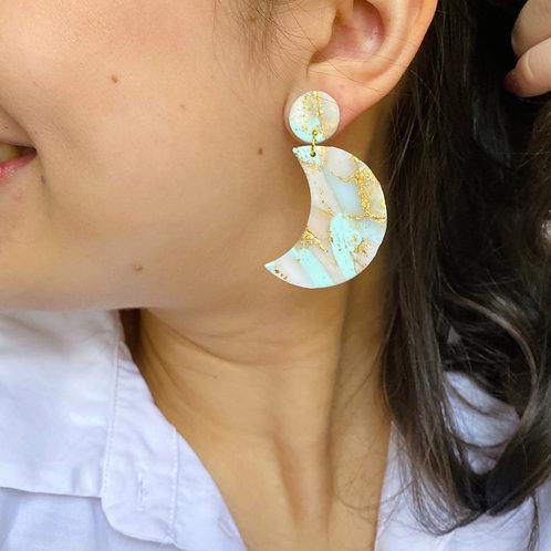 Gem turquoise moon