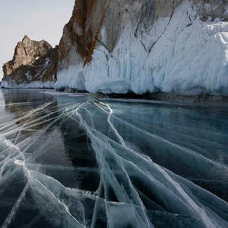 Байкальский лёд. Лучшие места озера зимой