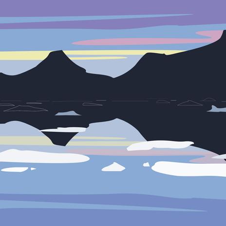 3 - Tasilaq Fjord at Dusk.png