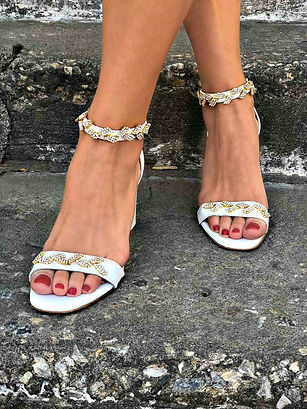 Wedding Heel Sandals