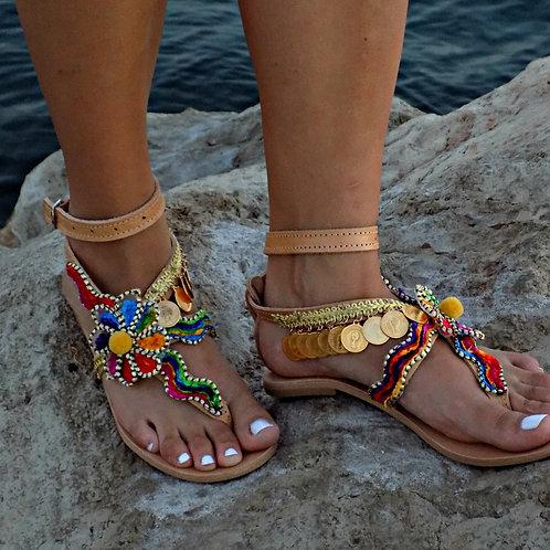 Cleopatra   Flat Sandal