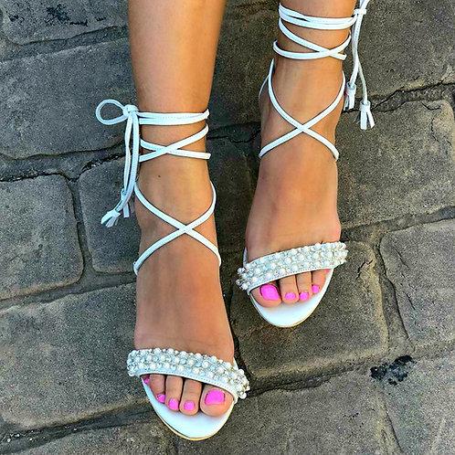 Alexa | Rhinestone  Ankle Wrap