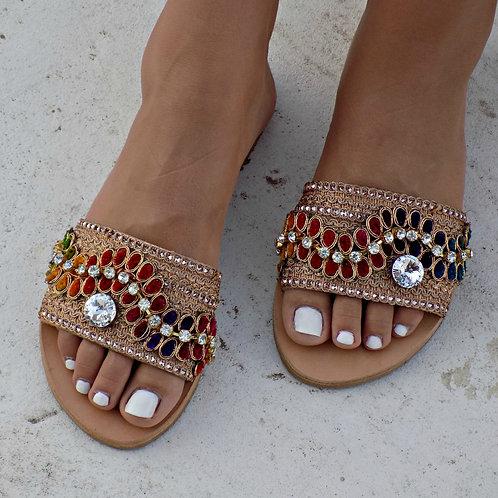 Aisha | Flat Sandal
