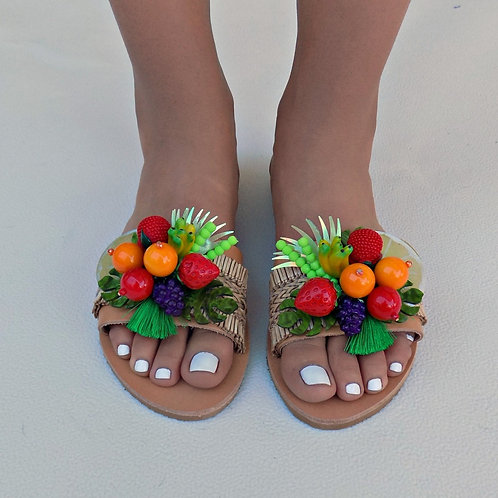 Tutti frutti | Flat Sandal