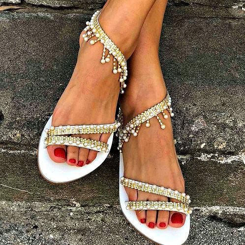 Delia | Flat Stappy Sandal