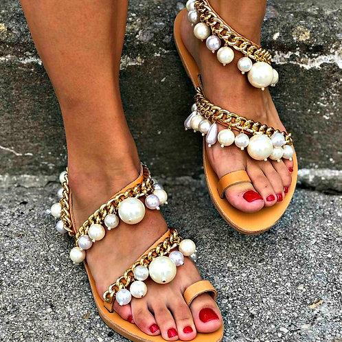 Bottega Lady   Flat Sandal