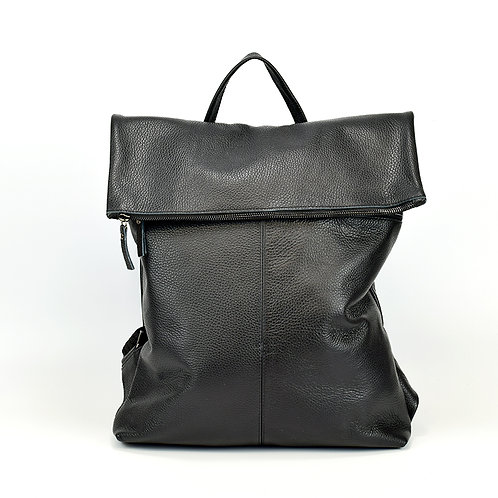 Chania | Women Men | Leather Backpack