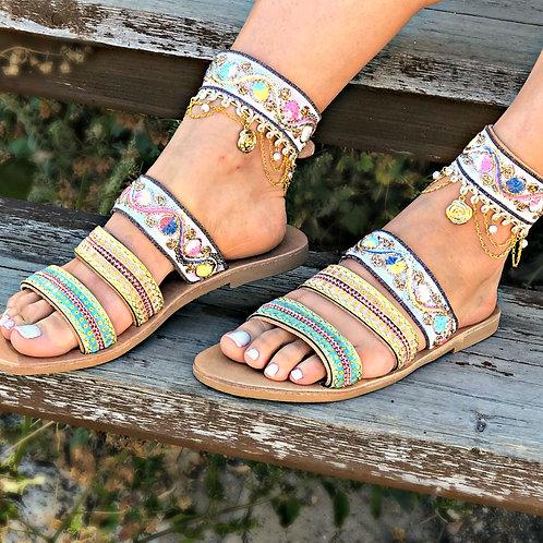 Farhan Anklet  | Strappy Slide