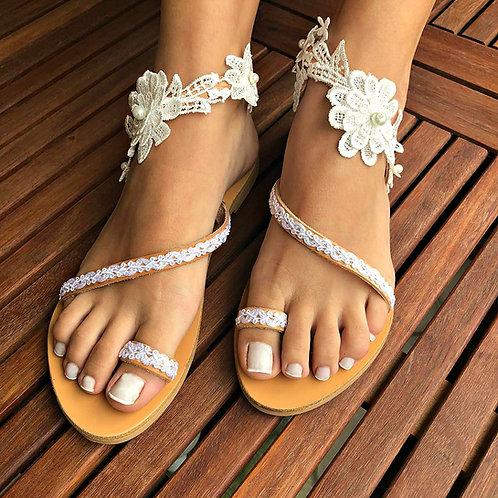 Carmella | Flat Sandal
