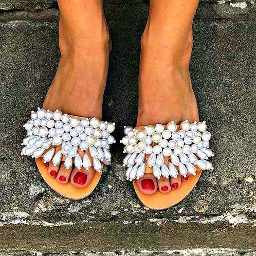 Isla Drops | Flat Sandal