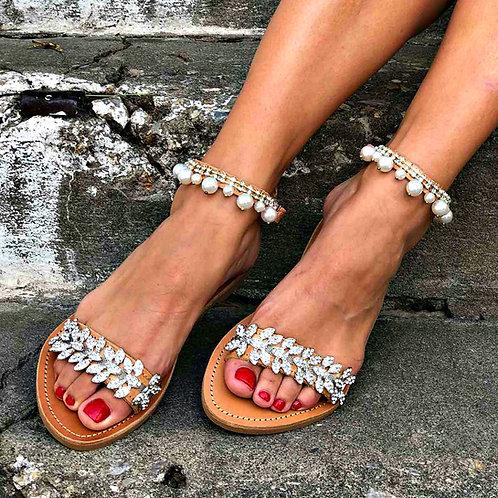 Marquise   Flat Sandal