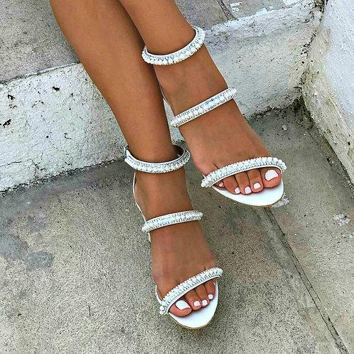 Anouk| Strappy Embellishes Heel