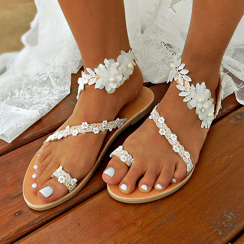 Jessamine | Flat Sandal