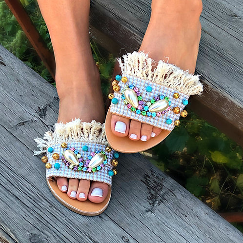 Cinderella | Flat Sandal