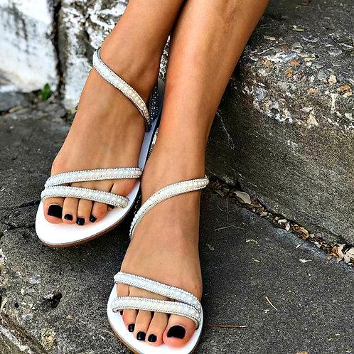 Zulema   Flat Stappy Sandal