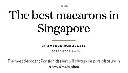 Macarons - Vogue Singapore