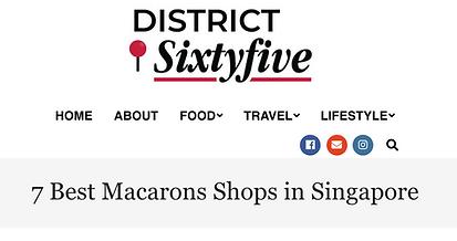 Macarons - District Sixtyfive