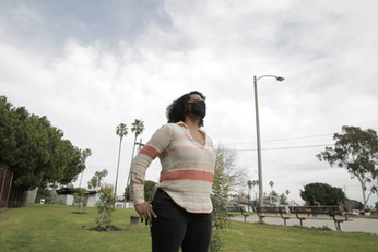 Anastasia, RRL founder, Alondra Community Regional Park.