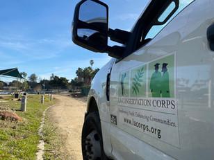 LA Conservation Corps, Alondra Community Regional Park.