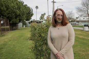 Rachel Payne, The Tree Pledge founder, Alondra Community Regional Park.