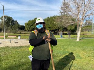 LA Conservation Corps crew member, Alondra Community Regional Park