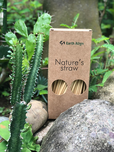 100% ALL NATURAL WHEAT DRINKING STRAWS