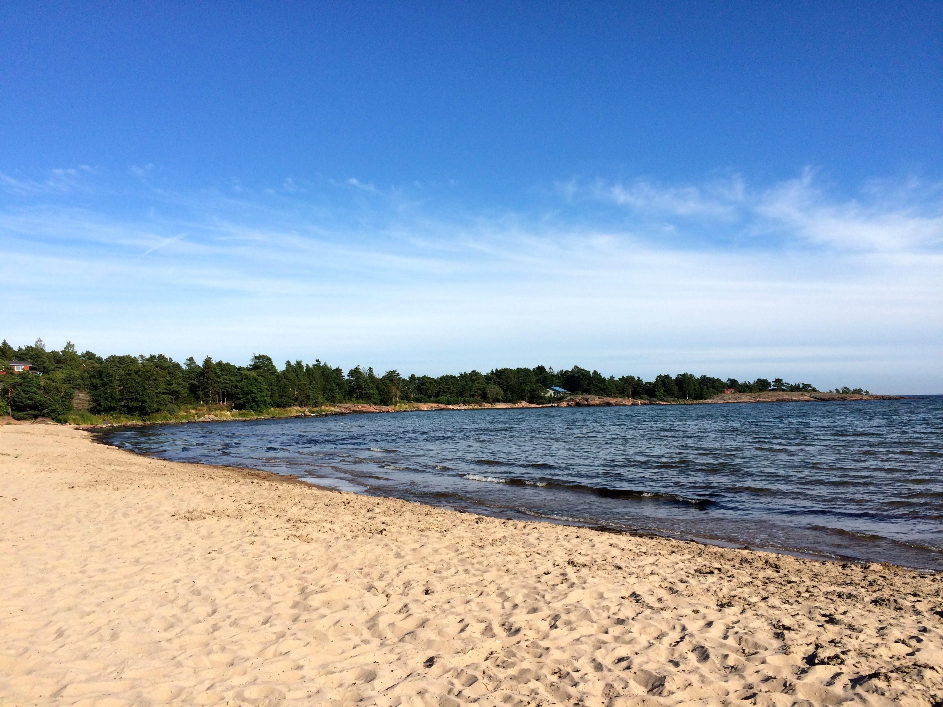 Degersand beach