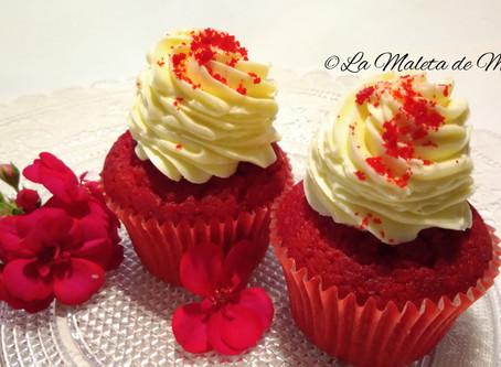 Cupcakes Red Velvet CocinaFacilita