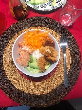 Poke Bowl fácil CocinaFacilita