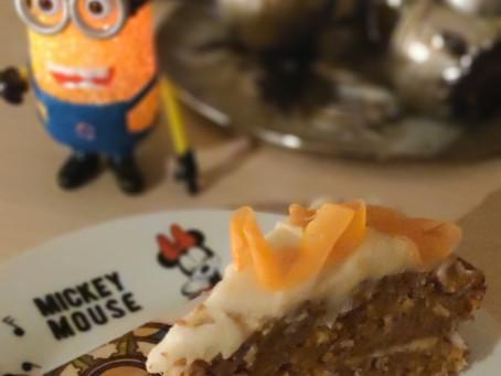 Tarta de zanahoria (carrot cake) Cocinafacilita