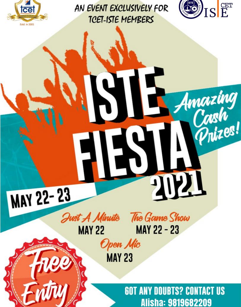 ISTE FIESTA 2021