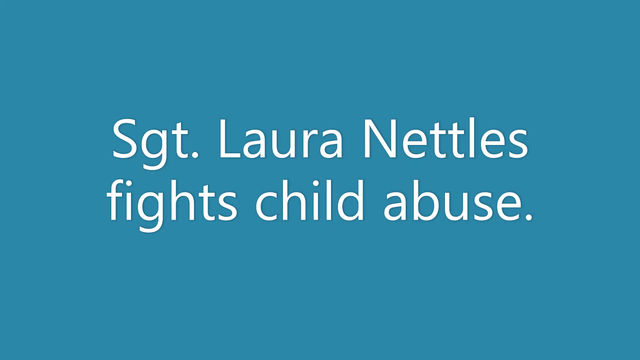 Sgt. Laura Nettles fights child abuse in Coffee County