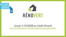 RénoVert se poursuit!